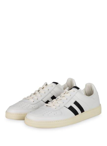 TOM FORD Sneaker, Farbe: WEISS/ SCHWARZ (Bild 1)