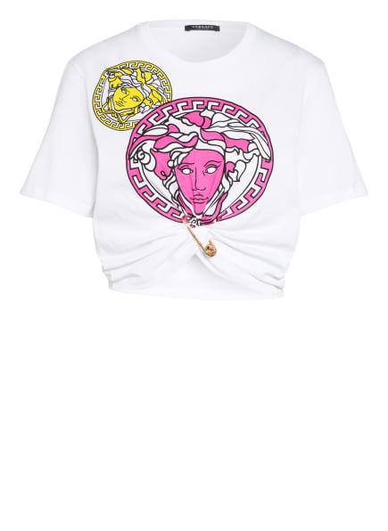 VERSACE T-Shirt, Farbe: WEISS/ PINK/ GELB (Bild 1)