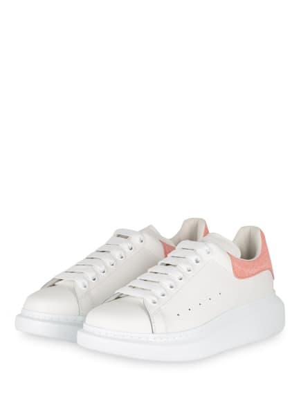 Alexander McQUEEN Plateau-Sneaker, Farbe: WEISS/ ROSÉ (Bild 1)