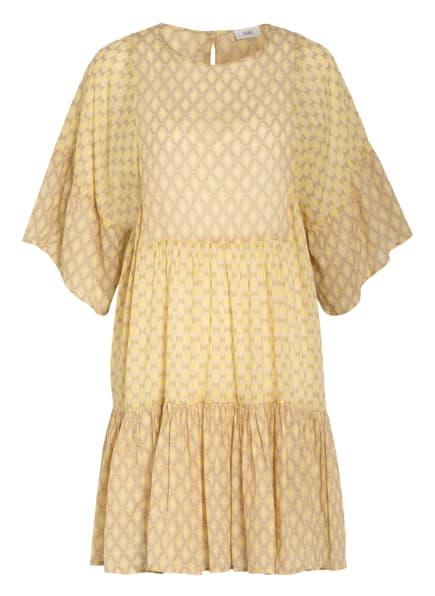 CLOSED Kleid TENNIE mit 3/4-Arm, Farbe: DUNKELGELB/ OLIV/ NUDE (Bild 1)