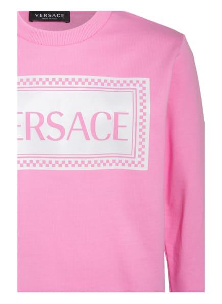 VERSACE Hoodies & Sweat   Versace Sweatshirt pink