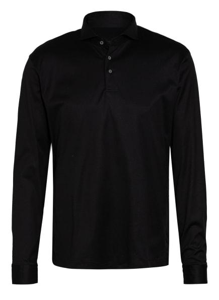 van Laack Jersey-Poloshirt PESO, Farbe: SCHWARZ (Bild 1)