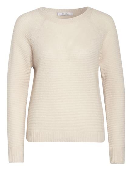Max Mara Cashmere-Pullover mit Seide, Farbe: CREME (Bild 1)