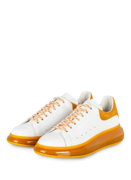 Alexander McQUEEN Sneaker , Farbe: WEISS/ DUNKELGELB (Bild 1)