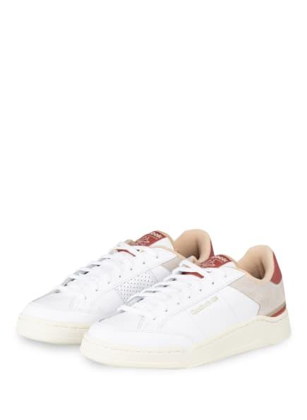 Reebok CLASSIC Sneaker AD COURT, Farbe: WEISS/ GRAU/ ALTROSA (Bild 1)