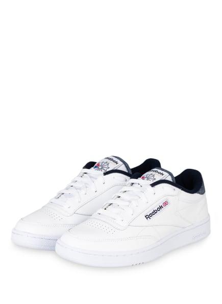 Reebok CLASSIC Sneaker CLUB C 85, Farbe: WEISS (Bild 1)