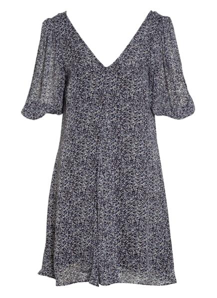 GANNI Kleid, Farbe: SCHWARZ/ WEISS/ HELLBLAU (Bild 1)