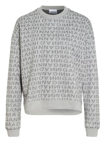 GANNI Sweatshirt, Farbe: GRAU (Bild 1)