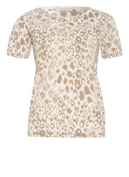 lilienfels Strickshirt, Farbe: WEISS/ TAUPE (Bild 1)