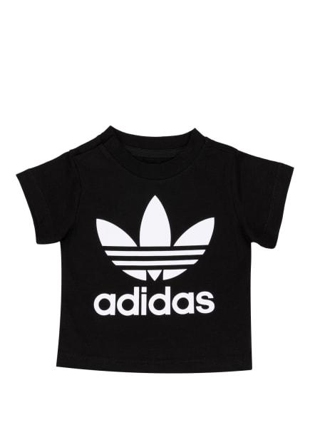 adidas Originals T-Shirt TREFOIL, Farbe: SCHWARZ/ WEISS (Bild 1)