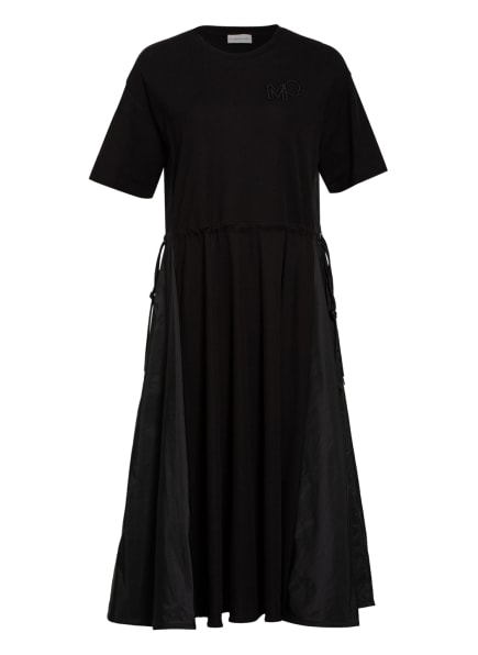 MONCLER Kleid im Materialmix, Farbe: SCHWARZ (Bild 1)