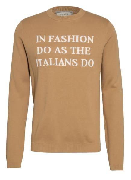 CHAS Pullover, Farbe: CAMEL (Bild 1)