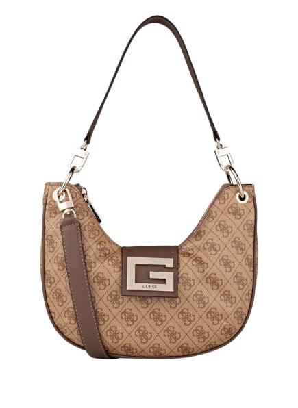 GUESS Handtasche BRIGHTSIDE, Farbe: BEIGE/ BRAUN (Bild 1)