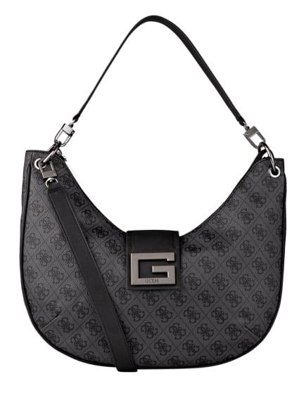 GUESS Handtasche BRIGHTSIDE, Farbe: GRAU/ DUNKELGRAU (Bild 1)