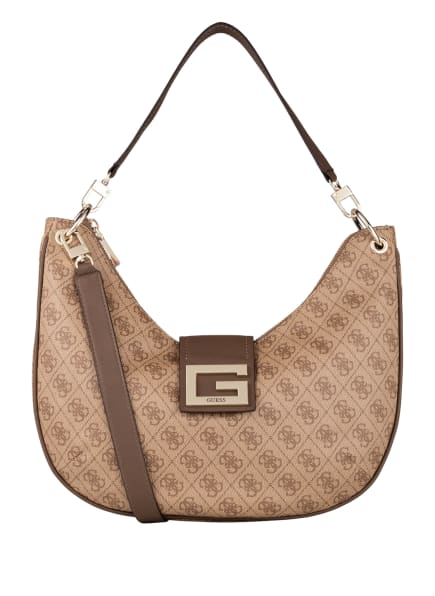 GUESS Handtasche BRIGHTSIDE, Farbe: BEIGE (Bild 1)