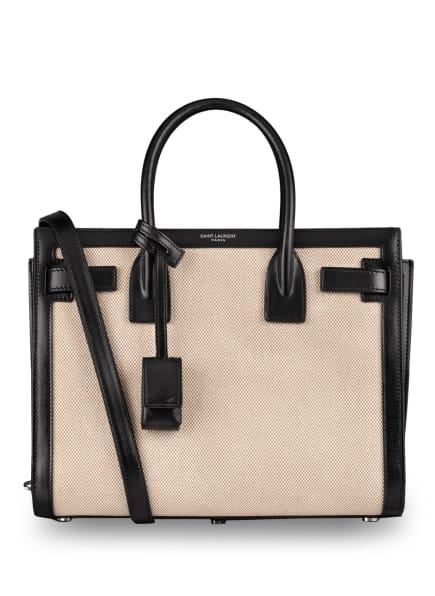 SAINT LAURENT Handtasche SAC DE JOUR BABY, Farbe: BEIGE/ SCHWARZ (Bild 1)