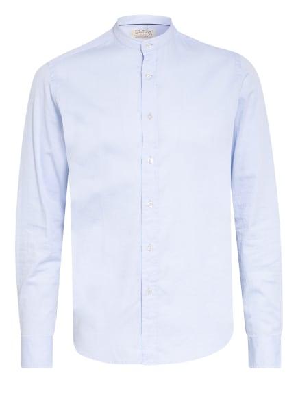 FIL NOIR Hemd FABIO Shaped Fit mit Stehkragen, Farbe: HELLBLAU (Bild 1)