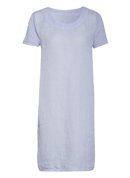 120%lino Leinenkleid, Farbe: HELLBLAU (Bild 1)