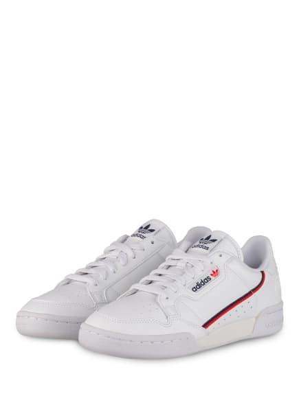 adidas Originals Sneaker CONTINENTAL 80 VEGAN, Farbe: WEISS (Bild 1)
