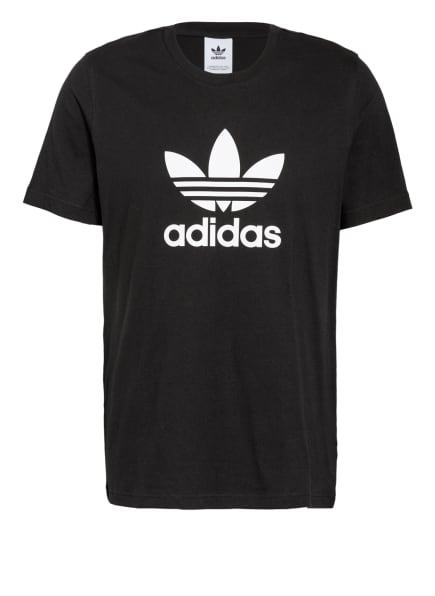 adidas Originals T-Shirt ADICOLOR CLASSICS TREFOIL , Farbe: SCHWARZ/ WEISS (Bild 1)