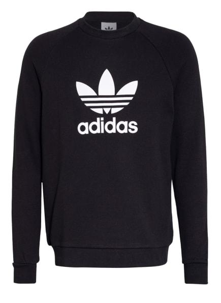 adidas Originals Sweatshirt TREFOIL WARM-UP, Farbe: SCHWARZ/ WEISS (Bild 1)