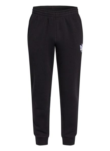 adidas Originals Sweatpants ADICOLOR 3D TREFOIL GRAPHIC, Farbe: SCHWARZ (Bild 1)