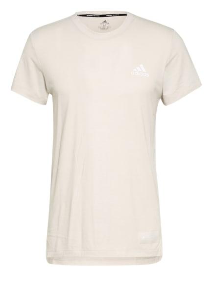 adidas T-Shirt STU TECH, Farbe: CREME (Bild 1)