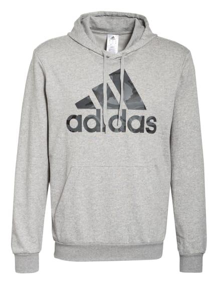 adidas Hoodie ESSENTIALS, Farbe: GRAU/ HELLGRAU (Bild 1)