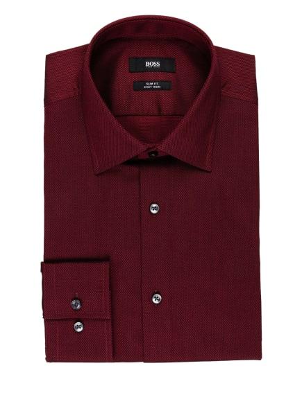 BOSS Hemd JANGO Slim Fit, Farbe: DUNKELROT (Bild 1)