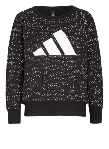 adidas Sweatshirt SPORTSWEAR WINNERS BADGE OF SPORT, Farbe: SCHWARZ/ WEISS (Bild 1)