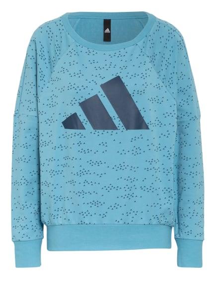 adidas Sweatshirt SPORTSWEAR WINNERS BADGE OF SPORT, Farbe: BLAU (Bild 1)