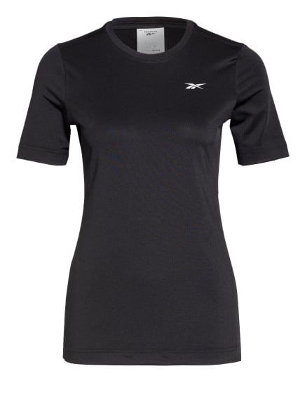 Reebok T-Shirt WORKOUT READY SUPREMIUM mit Mesh-Einsatz, Farbe: SCHWARZ (Bild 1)
