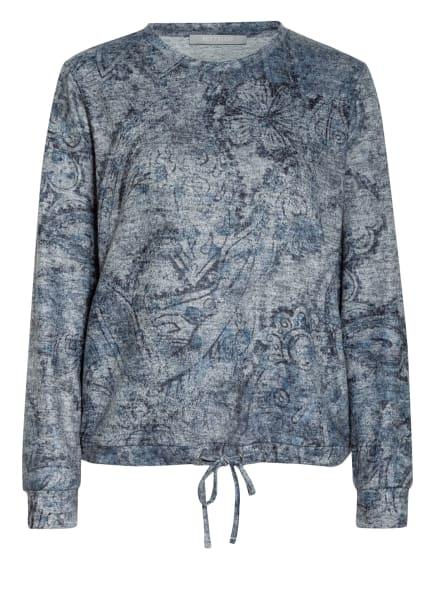 BETTY&CO Sweatshirt, Farbe: GRAU/ HELLGRAU/ PETROL (Bild 1)