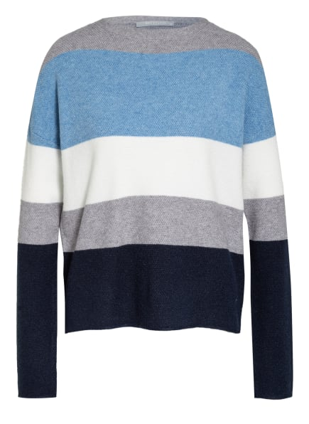 BETTY&CO Pullover, Farbe: HELLBLAU/ WEISS/ DUNKELBLAU (Bild 1)