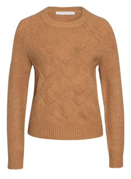 BETTY&CO Pullover, Farbe: CAMEL (Bild 1)
