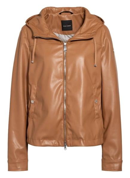 FUCHS SCHMITT Jacke in Lederoptik, Farbe: CAMEL (Bild 1)