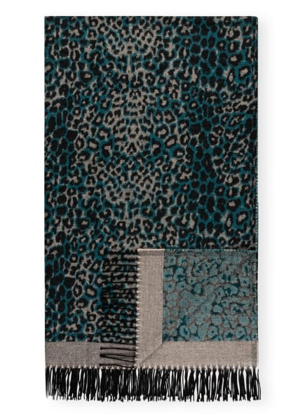 PROFLAX Plaid TABBY, Farbe: PETROL/ SCHWARZ/ BEIGE (Bild 1)