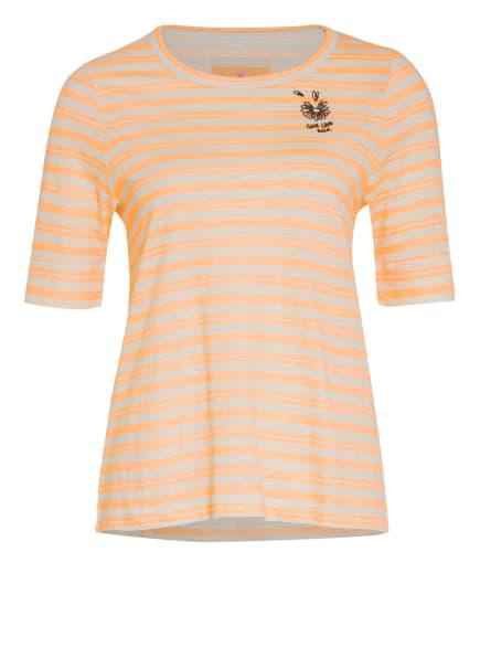 LIEBLINGSSTÜCK T-Shirt DIANEL, Farbe: NEONORANGE/ CREME (Bild 1)
