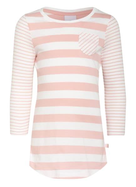 Sanetta Nachthemd, Farbe: HELLROSA/ WEISS (Bild 1)