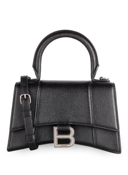 BALENCIAGA Handtasche HOURGLASS XS, Farbe: SCHWARZ (Bild 1)