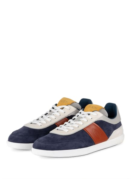 TOD'S Sneaker, Farbe: DUNKELBLAU/ COGNAC (Bild 1)