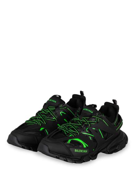 BALENCIAGA Sneaker TRACK, Farbe: SCHWARZ/ NEONGRÜN (Bild 1)