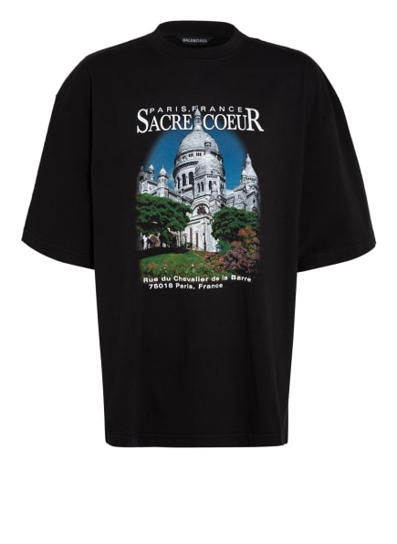 BALENCIAGA Oversized-Shirt , Farbe: SCHWARZ (Bild 1)