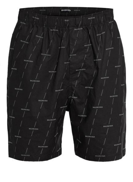 BALENCIAGA Shorts, Farbe: SCHWARZ/ GRAU (Bild 1)