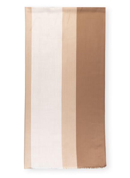 WEEKEND MaxMara Schal AMEDEA, Farbe: WEISS/ BEIGE (Bild 1)