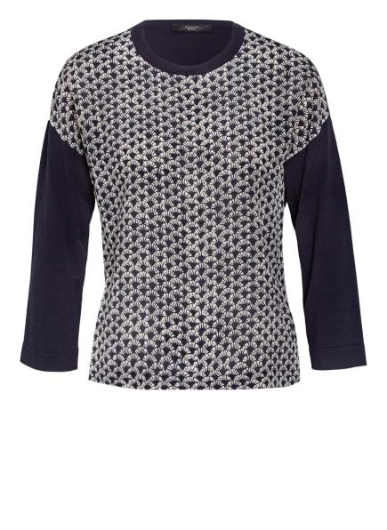 WEEKEND MaxMara Pullover SPAGNA im Materialmix, Farbe: SCHWARZ/ CAMEL (Bild 1)