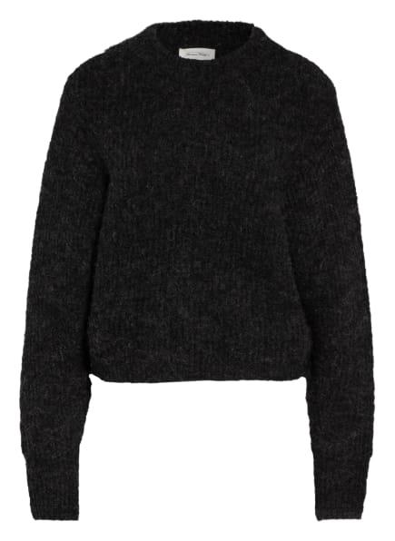 American Vintage Pullover mit Alpaka, Farbe: DUNKELGRAU (Bild 1)