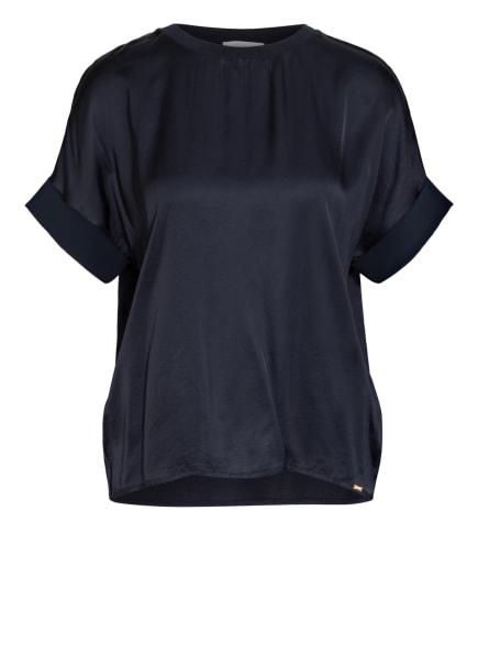 CINQUE T-Shirt CIPHIA im Materialmix, Farbe: DUNKELBLAU (Bild 1)