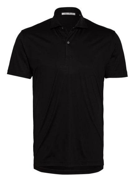 Stefan Brandt Jersey-Poloshirt LUUK, Farbe: SCHWARZ (Bild 1)