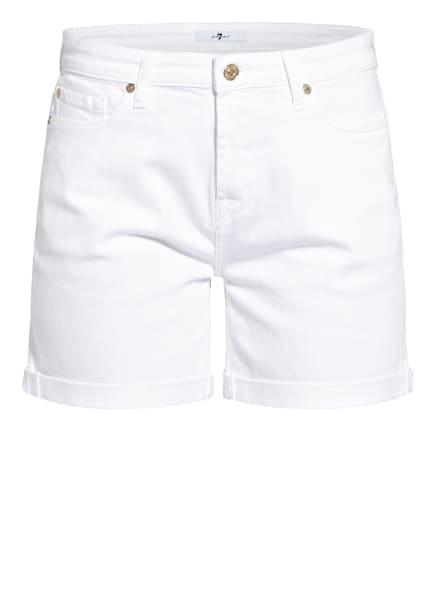 7 for all mankind Jeans-Shorts, Farbe: Colored Twill WHITE (Bild 1)